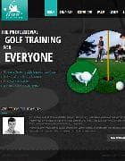 JM Personal Site v1.05 EF3 - шаблон сайта о гольфе для Joomla