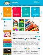 JM School Tools v1.04 EF3 - шаблон сайта о школьных принадлежностях для Joomla
