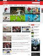 SJ TheDaily v2.0.0 - спортивный новостной шаблон для Joomla