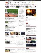 JUX News v1.0.2 - классический шаблон для Joomla