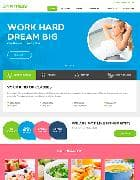 JM Fitness v1.02 - фитнес шаблон для сайта на Joomla