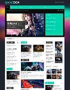 VT GameBox v1.2 - шаблон игрового сайта на Joomla