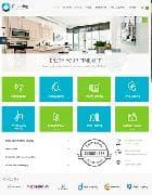 JM Cleaning Company v1.03 EF4 - шаблон сайта клининговой компании