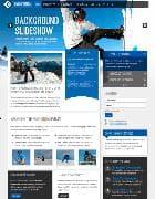 RT Momentum v1.11 - Joomla шаблон сайта о сноубординге