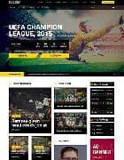 JS Soccer v2.1 - футбольный шаблон для Joomla