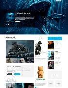 YJ Play v1.0.1 - шаблон сайта для Joomla о кино