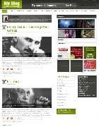 YJ Myblog v1.0 - Joomla шаблон сайта блоггера