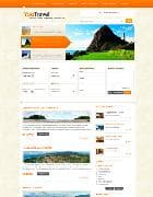 YJ Youtravel v1.0.1 - шаблон блога о путешествиях для Joomla