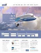 OS Jet Charter Flights v3.4.3 - премиум шаблон для авиакомпании