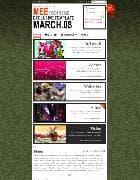 YOO Mee v1.5.8 - шаблон блога для Joomla