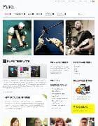 YOO Pure v5.5.15 - шаблон блога для Joomla