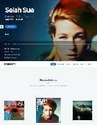 YJ Soundbeat v1.0.0 - премиум шаблон для музыкального сайта