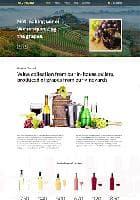 Hot Vineyard v2.7.9 - премиум шаблон для сайтов производителей вина