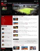 Shaper Sports v1.5 - шаблон спортивного портала для Joomla