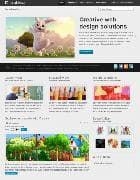 Shaper Creativa v1.0 - детский шаблон для Joomla