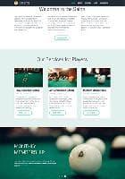 Hot Billiards v2.7.9 - премиум шаблон для салона развлечений