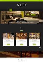 JP Gusto v1.0.006 - премиум шаблон для сайта дизайнера