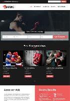 VT Boxing v1.2 - премиум шаблон сайта для спортивного клуба