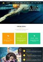 LT Swim v1.0 - премиум шаблон сайта по плаванию