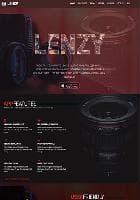 JXTC Lenzy v1.1.0 - премиум шаблон сайта фотографа
