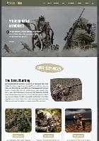 LT Hunting v1.0 - премиум шаблон для сайта про охоту