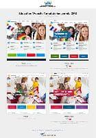 JM Education v1.01 EF4 - премиум шаблон для школьного сайта