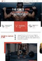 TX Fitness v1.2.1 - премиум шаблон для сайта фитнес-клуба