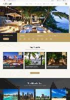 Sj Resort II v1.0.0 - премиум-шаблон для гостиничного бизнеса