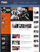 GK League News v3.10.1 - спортивный шаблон для Joomla