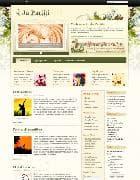 JA Pariiti v1.4.0 - шаблон художественного блога для Joomla