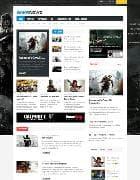 GK Game News v3.13.2 - шаблон игрового портала для Joomla