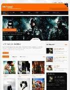 YJ HD Channel v1.0.5 - шаблон кино сайта для Joomla
