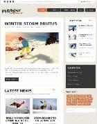 GK Publisher v3.17.2 - адаптивный шаблон персонального блога для Joomla