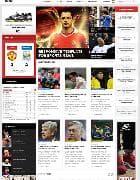 JA Fubix v1.1.3 - шаблон футбольного сайта для Joomla