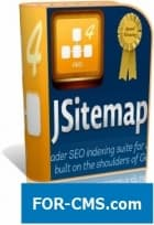 JSitemap PRO v4.3.5 - chart for the website