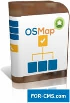 OSMap PRO - Sitemap chart