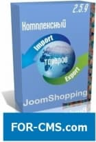 Complex export / import of XLS for JoomShopping