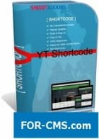 YT Shortcode v3.0.0 - insert of elements in Joomla