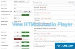 Vina HTML5 Audio Player